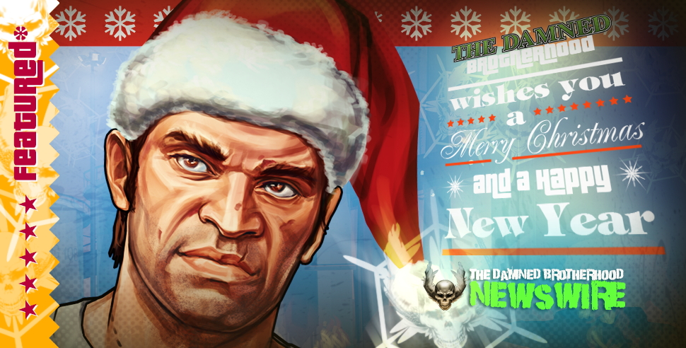 The Damned Brotherhood featured by Rockstar Games - Trevor's New Year on GTAV